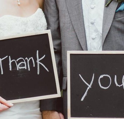 podziękowania dla rodziców