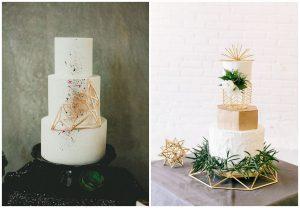 geometryczny tort