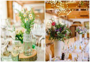 polne kwiaty na ślubie i weselu