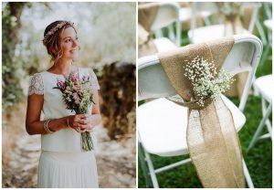 polne kwiaty na ślub i wesele