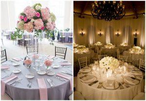 Jakie stoły wybrać na wesele? Okrągłe czy prostokątne?