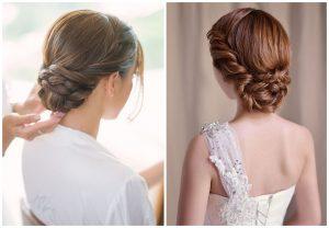 Oto kilka najpiękniejszych fryzur ślubnych z warkoczem.