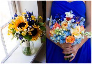 Chabrowy kolor przewodni ślubu i wesela