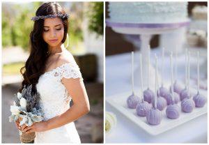 Wrzos oraz lawenda na ślubie i weselu