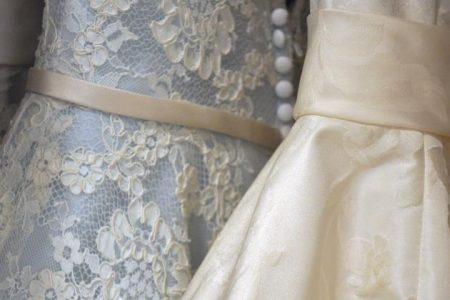 Kolorowa suknia ślubna