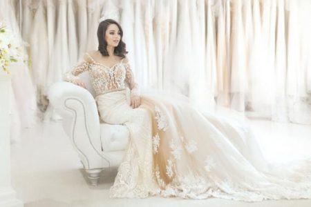 suknia ślubna z internetu