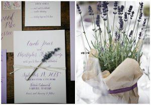 Wrzos i lawenda na ślubie oraz weselu