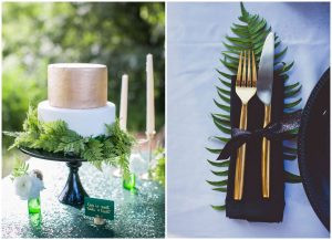 Paproć na ślubie i weselu