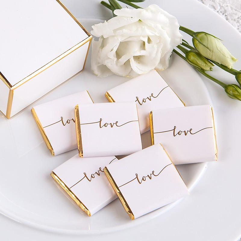 Minimalistyczny motyw przewodni ślubu i wesela