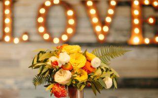 jesienne dekoracje ślubne